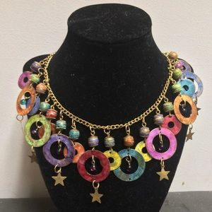 Jewelry - Vintage Colorful Statement Necklace